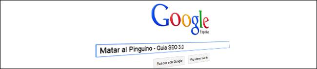 Curso SEO 3.0 Matar al Pinguino